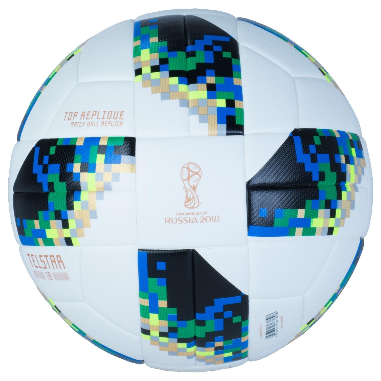 توپ فوتبال مدل جام جهانی روسیه -3 سایز 5