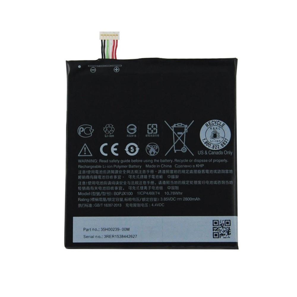 باتری موبایل مدل B0PJX100A23 ظرفیت 2800 میلی آمپر ساعت مناسب برای گوشی موبایل اچ تی سی E9 Plus