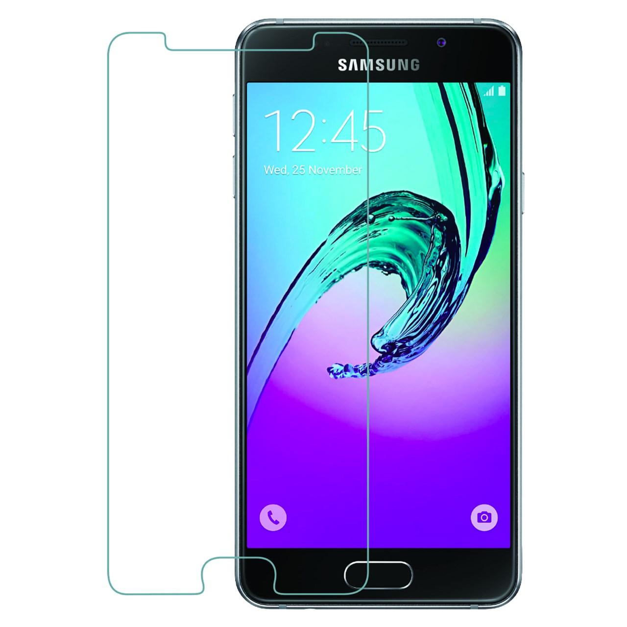 محافظ صفحه نمایش شیشه ای تمپرد هوکار  مناسب Samsung Galaxy A3 2016