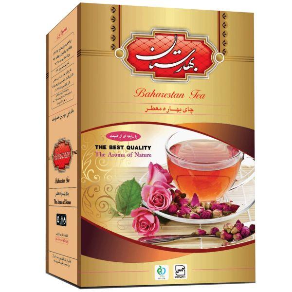 چای سیاه بهارستان مدل ایرانی معطر بسته 450 گرمی