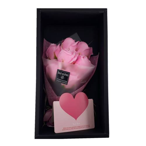 جعبه کادویی گل LOVE مدل black Box