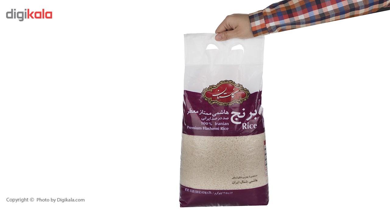 برنج هاشمی ممتاز گلستان مقدار 4.5 کیلوگرم main 1 5
