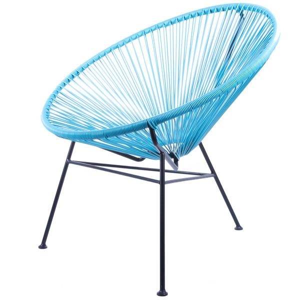 صندلی کروماتیک مدل Blue PE Rattan