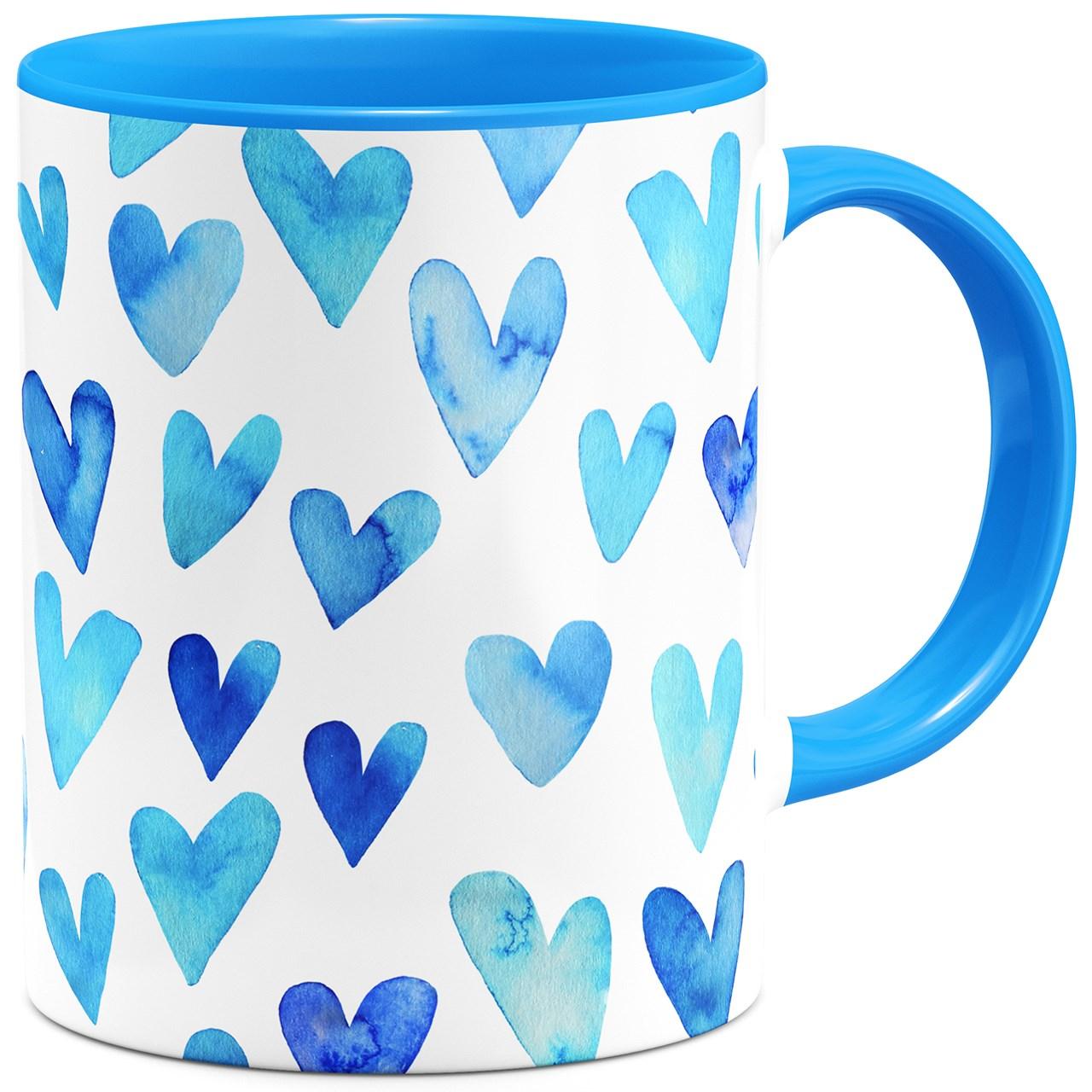 ماگ هیدورا طرح عشق آبی