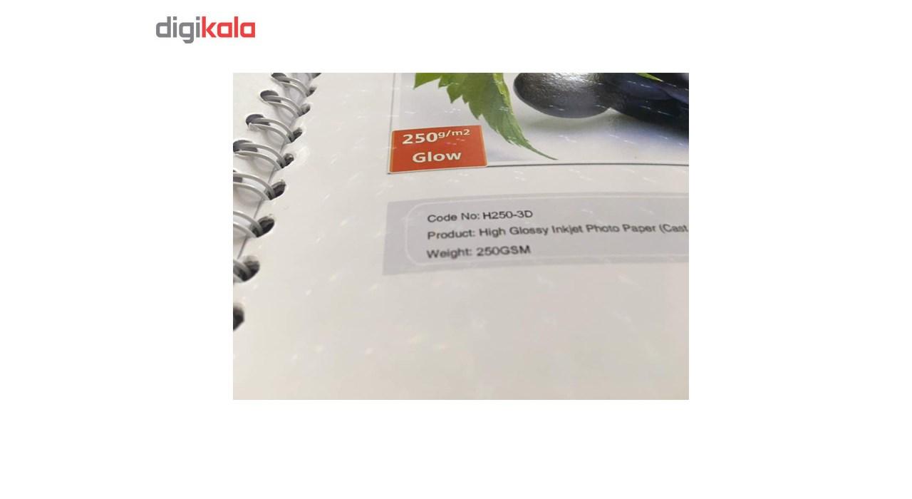 قیمت                      کاغذ عکس دابلیو دابلیو ام سه بعدی دورو مدل 250g مدل Glow سایز A4 بسته 40 عددی