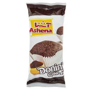 کیک دونینی دوقلو کاکائویی آشنا مقدار 55 گرم