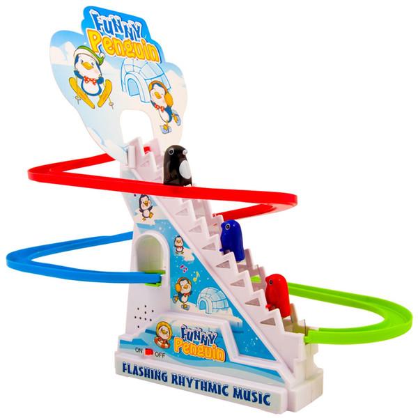 اسباب بازی پله برقی پنگوئن سایز بزرگ  مدلFunny Penguin
