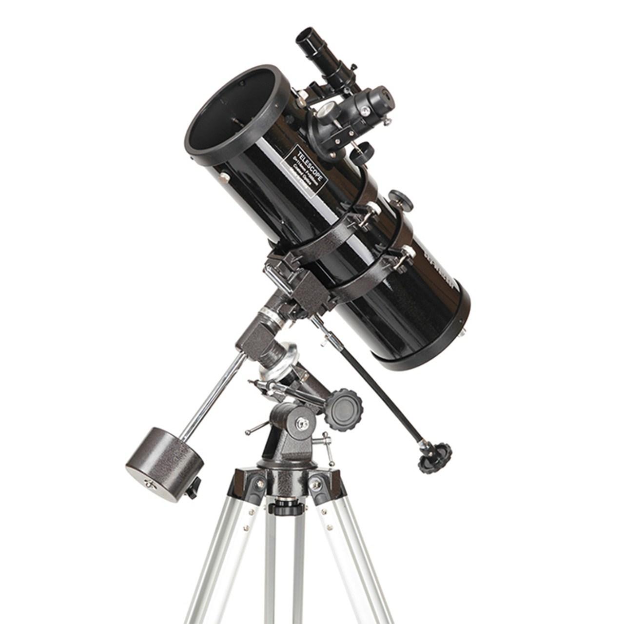تلسکوپ 114 نیوتنی لوله کوتاه با مقر EQ1