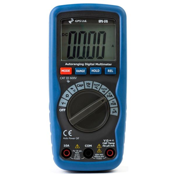 مولتی متر  جی پی اس  مدل GPS-170  پرتابل دیجیتالی