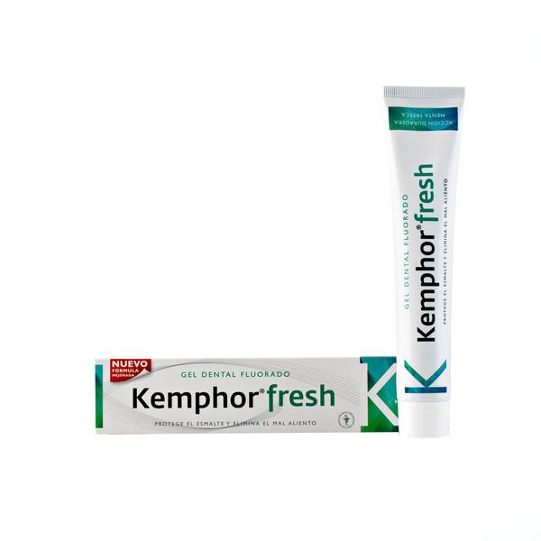 خمیردندان  ژله ای کمفور مدل Kemphor Fresh حجم 75 میلی  لیتر