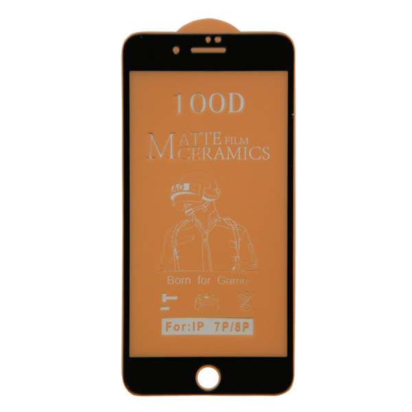 محافظ صفحه نمایش مات مدل CR مناسب برای گوشی موبایل اپل iphone 7 Plus/ 8 Plus
