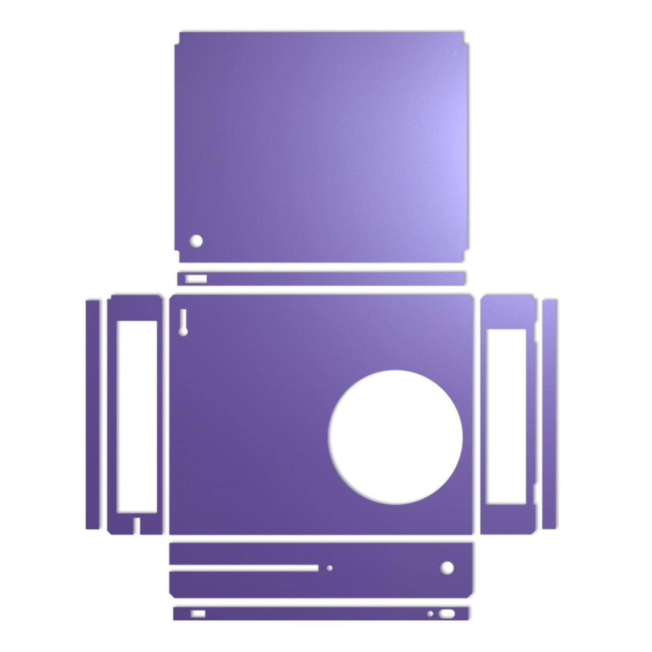 بررسی و {خرید با تخفیف}                                     برچسب ماهوت مدل Purple Color مناسب برای کنسول بازی Xbox One S                             اصل