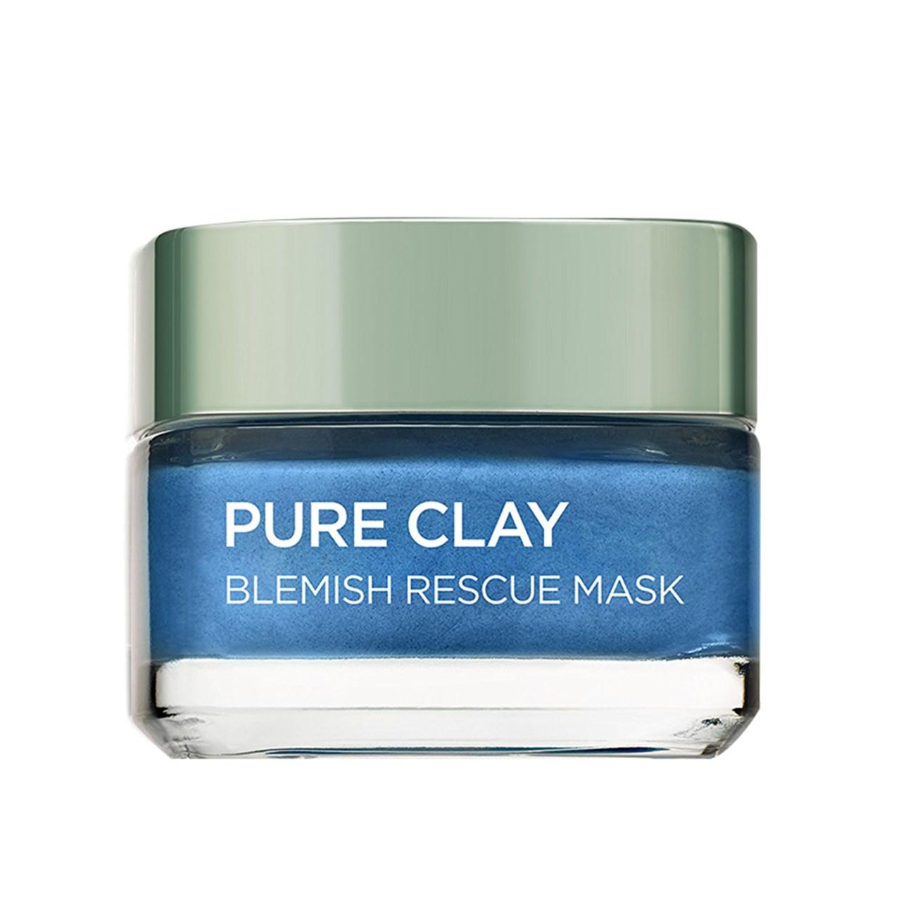قیمت ماسک ترمیم کننده پوست لورآل مدل Pure Clay حجم 50 میلی لیتر