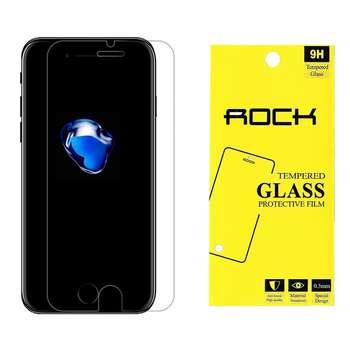 محافظ صفحه نمایش راک مدل 9H TEMPERED مناسب برای گوشی موبایل اپل آیفون 7/8
