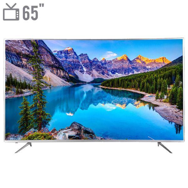 تلویزیون ال ای دی هوشمند خمیده هیوندای مدل HLED65CR8691 سایز 65 اینچ