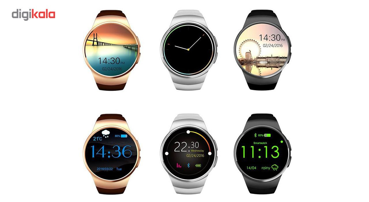 ساعت هوشمند Kingwear مدل KW18
