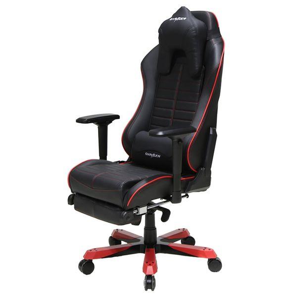 صندلی اداری دی ایکس ریسر سری آیرون مدل OH/IA133/NR چرمی