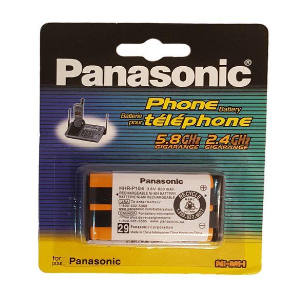 باتری تلفن پاناسونیک مدل HHR-P104