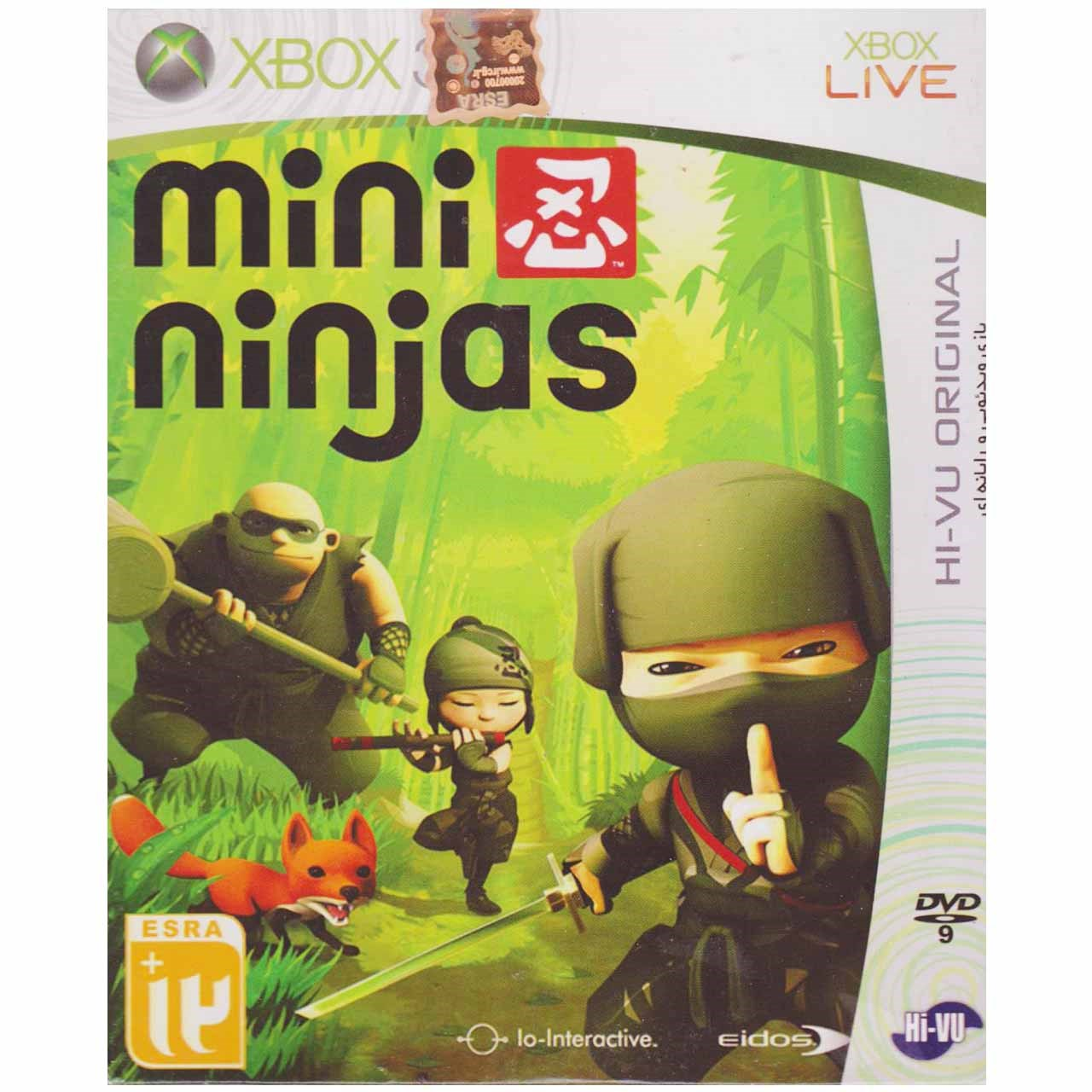 بازیِ Mini Ninjas  مخصوص ایکس باکس 360
