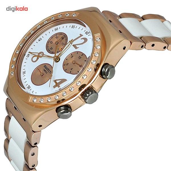 ساعت مچی عقربه ای سواچ مدل YCG406G