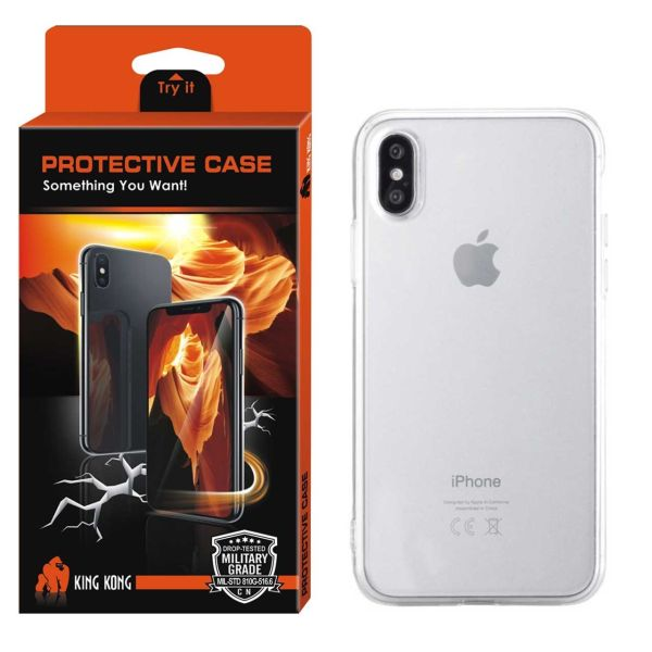 کاور کینگ کونگ مدل Protective TPU  مناسب برای گوشی موبایل اپل آیفونX/10