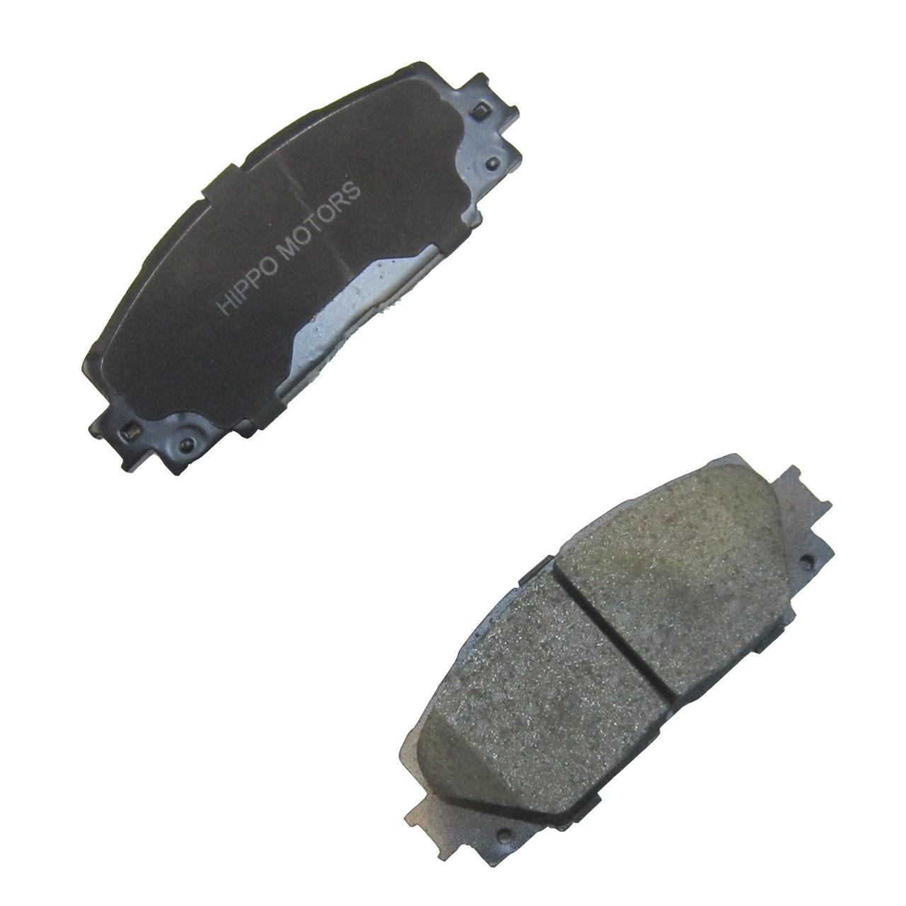 لنت ترمز جلو هیپو مناسب برای  برلیانس H220/H230    بسته دو جفتی