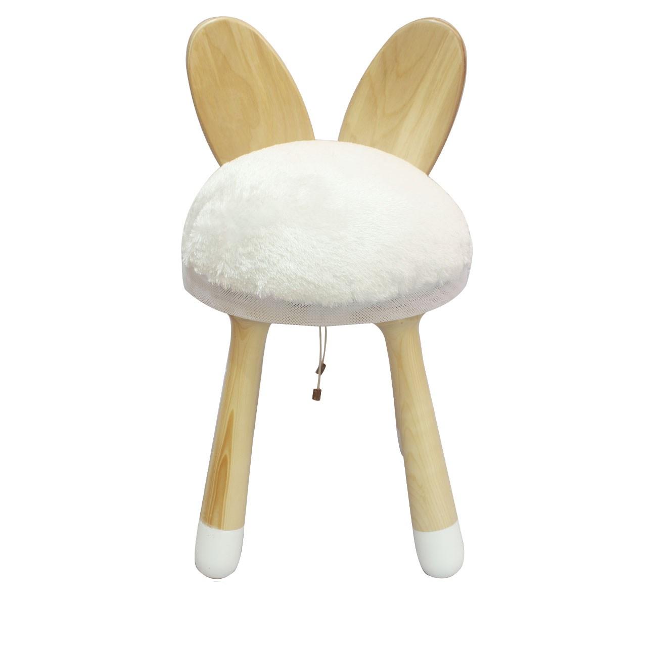 صندلی کودک ترای انگل تویز مدل خرگوش سفید