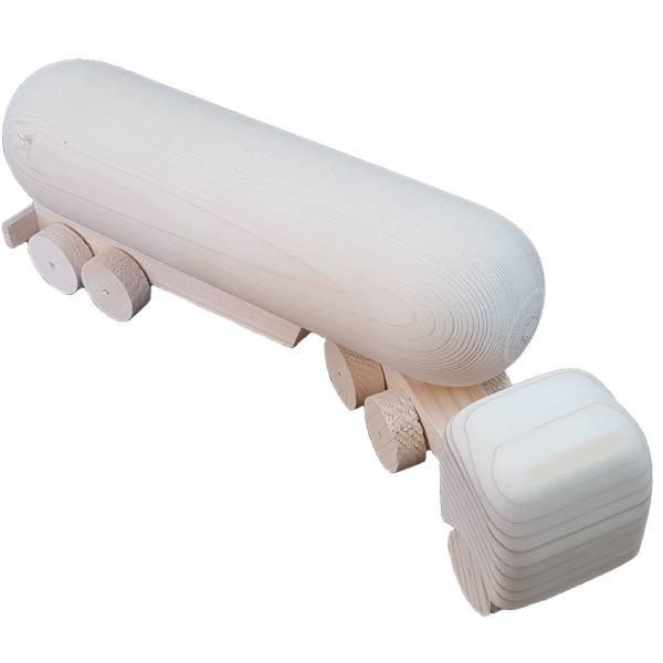 نفتکش چوبی مدل چورنی Nk2