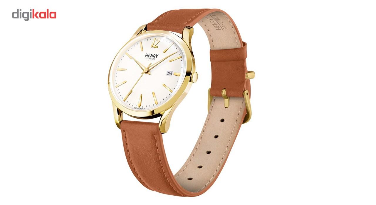 خرید ساعت مچی عقربه ای هنری لندن مدل Hl39-s-0012