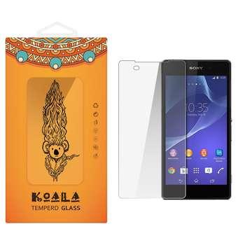 محافظ صفحه نمایش شیشه ای کوالا مدل Tempered مناسب برای گوشی موبایل سونی Xperia Z2