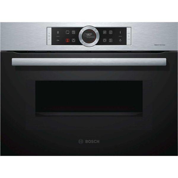 مایکروویو توکار بوش سری 8 مدل CMG633BS1I | Bosch 8 Series CMG633BS1I Built in Microwave Oven