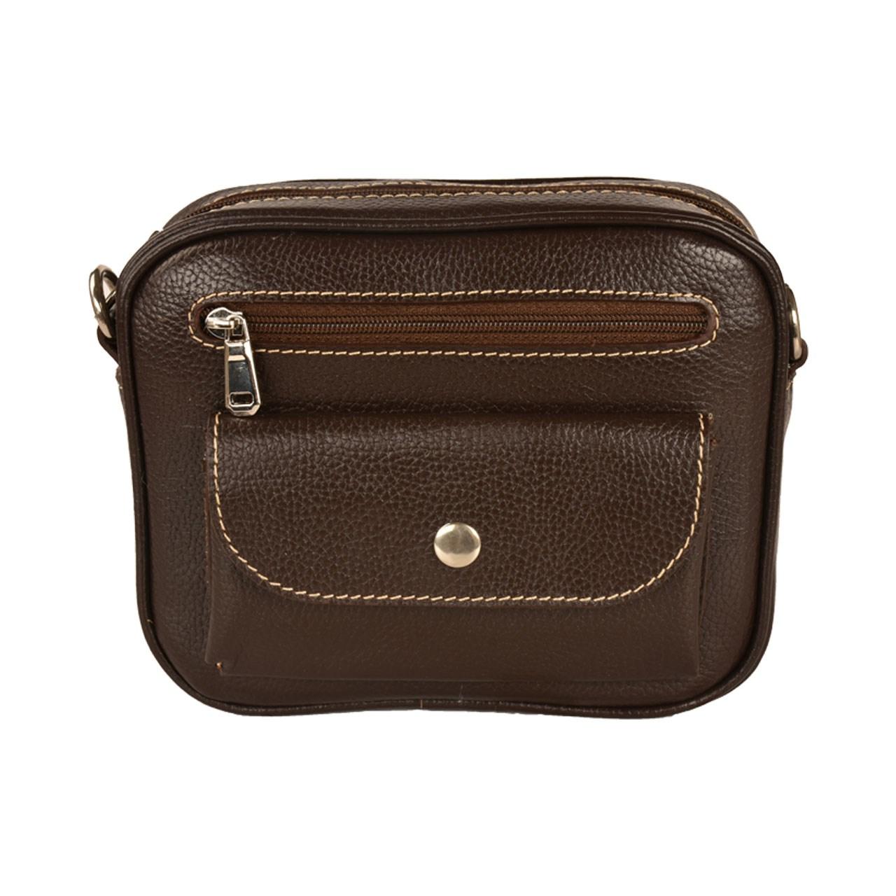 کیف دوشی چرم طبیعی کهن چرم مدل DB70-15