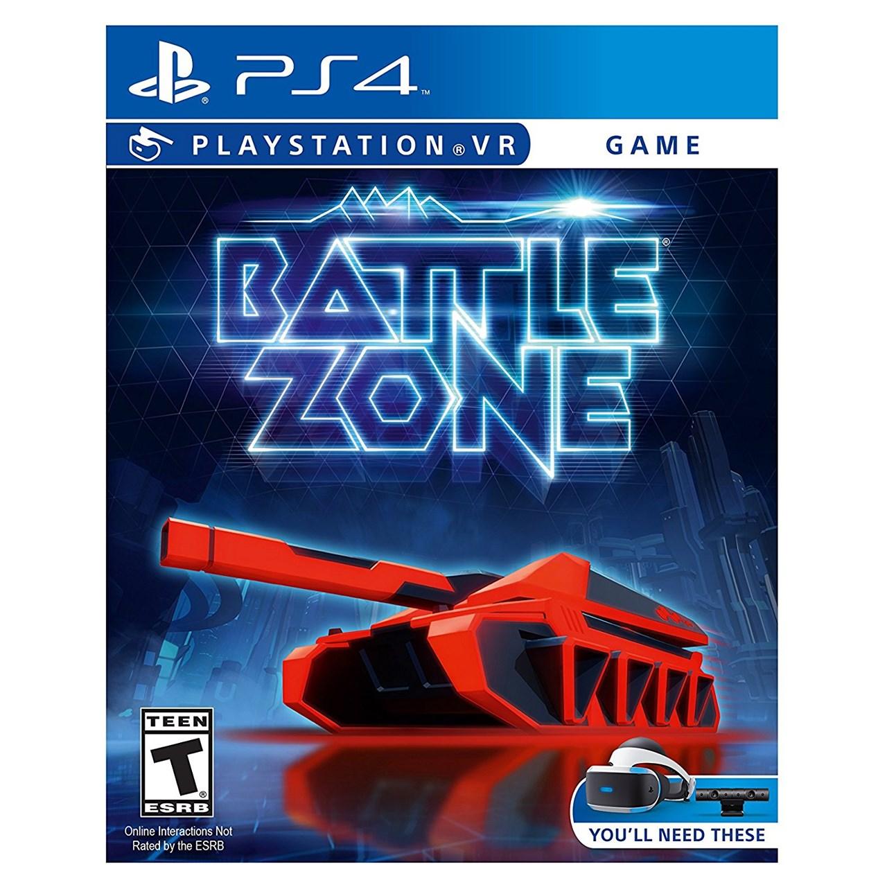 بازی Battle Zone مخصوص PS4