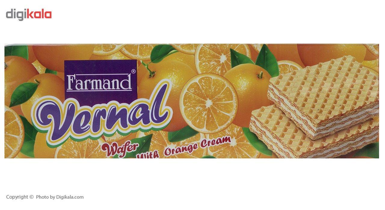 ویفر با کرم پرتقال فرمند مقدار 80 گرمی main 1 1