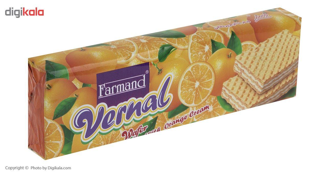 ویفر با کرم پرتقال فرمند مقدار 80 گرمی main 1 4