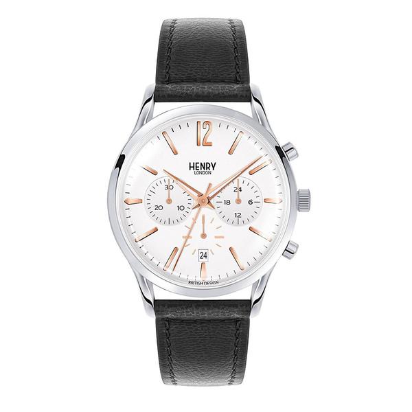 ساعت مچی عقربه ای هنری لندن مدل Hl41-cs-0011