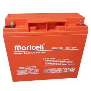 باتری 12 ولت 18 آمپر موریسل مدل 1218