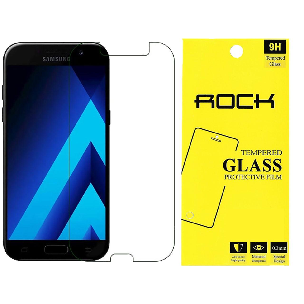 محافظ صفحه نمایش شیشه ای راک مدل Tempered مناسب برای گوشی موبایل سامسونگ Galaxy A5