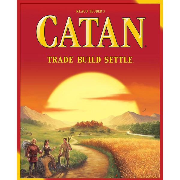 بازی رومیزی کتان مدل Catan