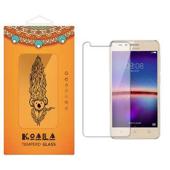 محافظ صفحه نمایش شیشه ای کوالا مدل Tempered مناسب برای گوشی موبایل هوآوی Y3 II