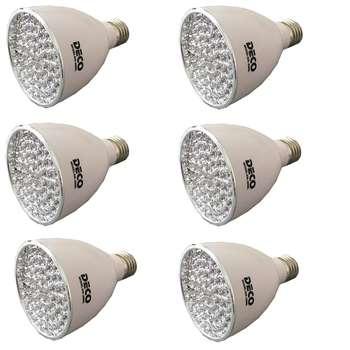 لامپ ال ای دی دکو مدل 2060L پایه E27 بسته 6 عددی