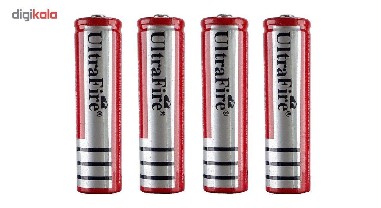 باتری  شارژی 18650  اولترا فایر مدل580 - بسته 4 عددی main 1 1