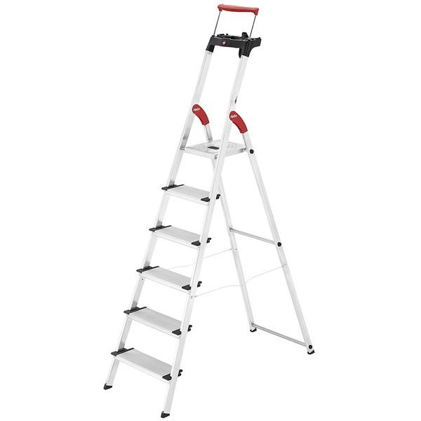 نردبان شش پله هایلو مدل Comfort-XXR-8030601