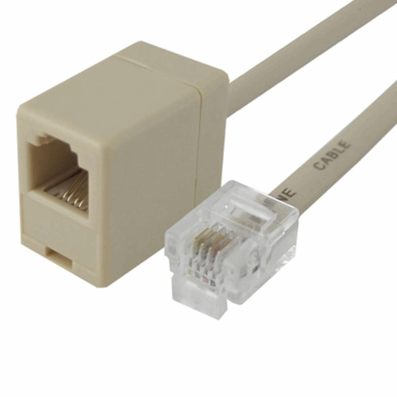 کابل افزایش طول تلفن دایو مدل DT8108  به طول 8 متر