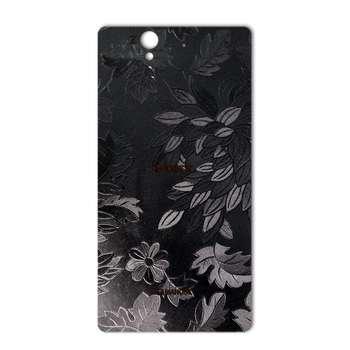 برچسب پوششی ماهوت مدل Wild-flower Texture مناسب برای گوشی  Sony Xperia Z