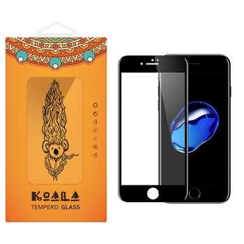 محافظ صفحه نمایش شیشه ای کوالا مدل Full Cover مناسب برای گوشی موبایل اپل آیفون 7