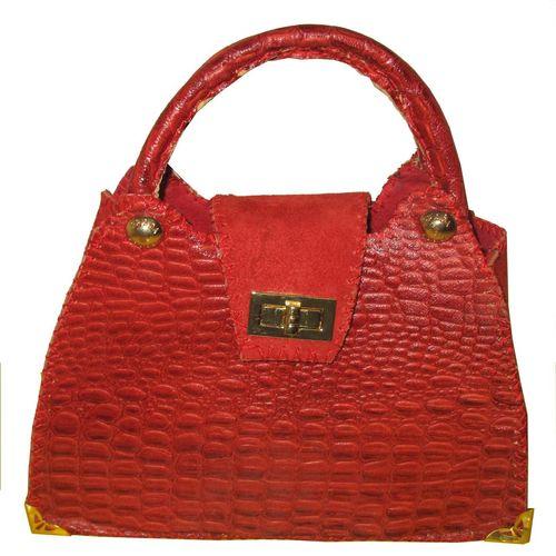 کیف زنانه چرم طبیعی مدل یاقوت