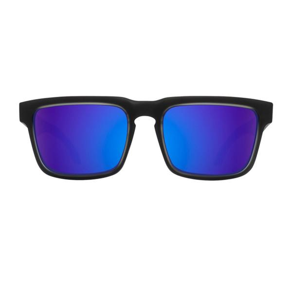 عینک آفتابی اسپای سری Helm مدل Black Ice Bronze With Purple Spectra