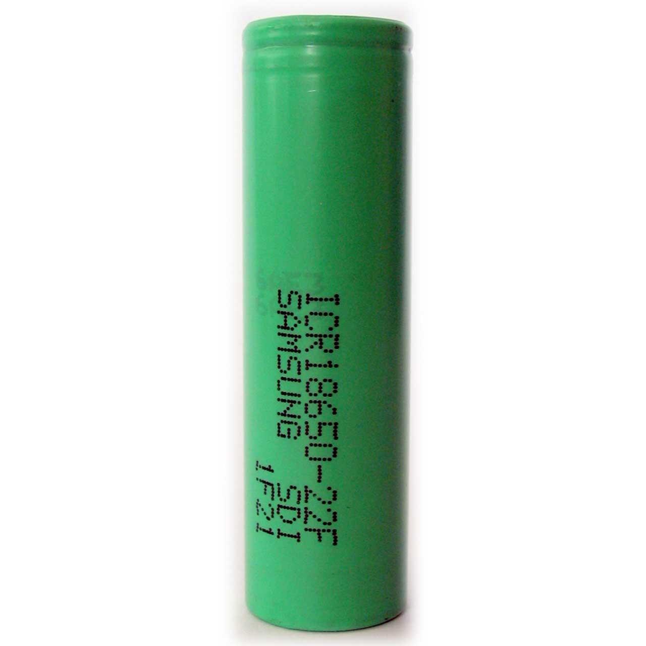 خرید                     باتری لیتیم یون سامسونگ قابل شارژ مدل ICR18650-22F ظرفیت 2200 میلی آمپر