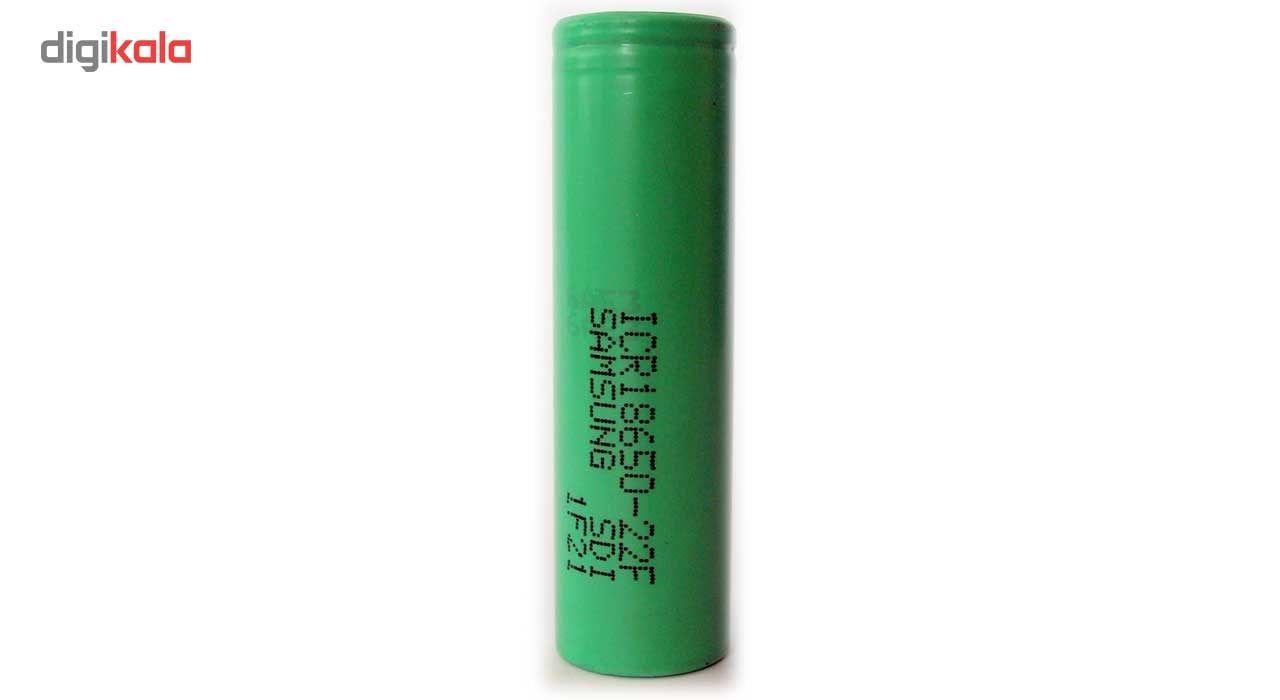 باتری لیتیم یون سامسونگ قابل شارژ مدل ICR18650-22F ظرفیت 2200 میلی آمپر main 1 1